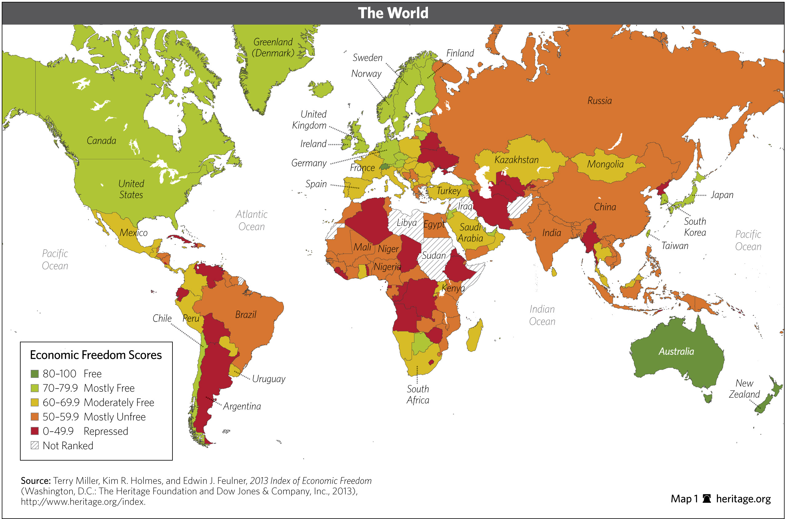 Download index of economic freedom data maps and book chapters maps world gumiabroncs Images