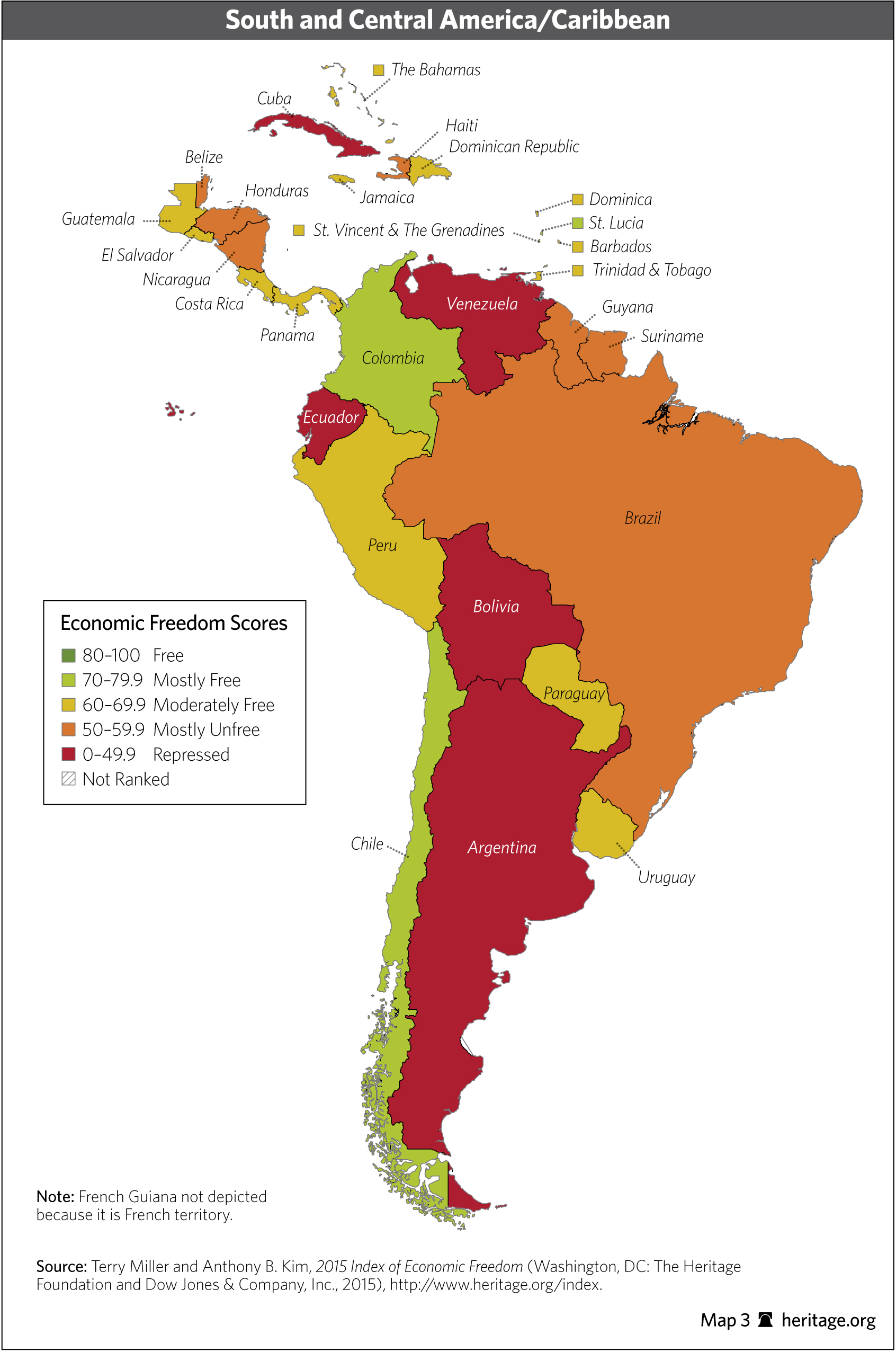 global and regional trends in economic freedom 2015