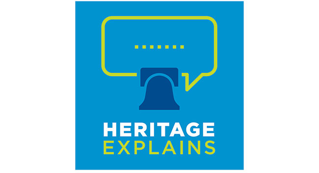 Heritage Explains podcast art