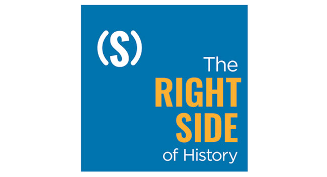 Right Side of History Podcast Art