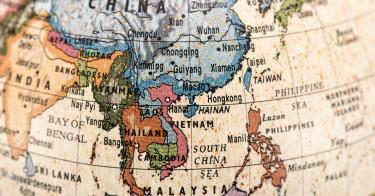 Why America Must Capitalize On Its Alliances In The AsiaPacific - Map of us alliances in asia