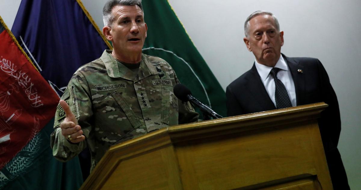U S Mulls Afghan Drive To Force Taliban Into Talks The