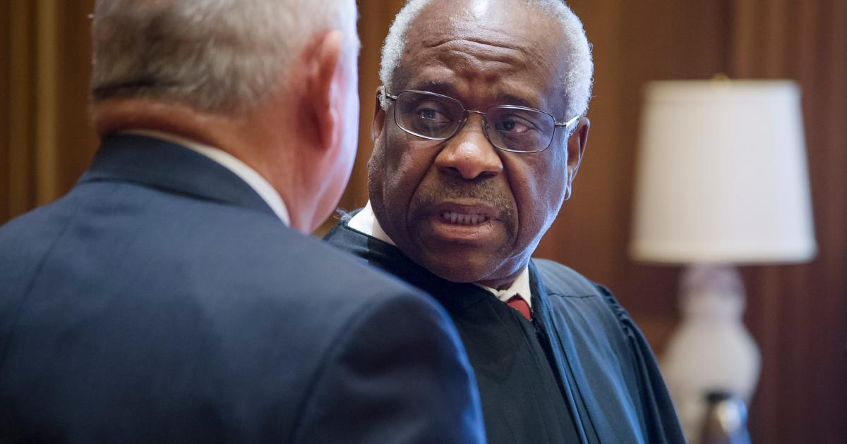 from Langston clarence thomas gay rumors