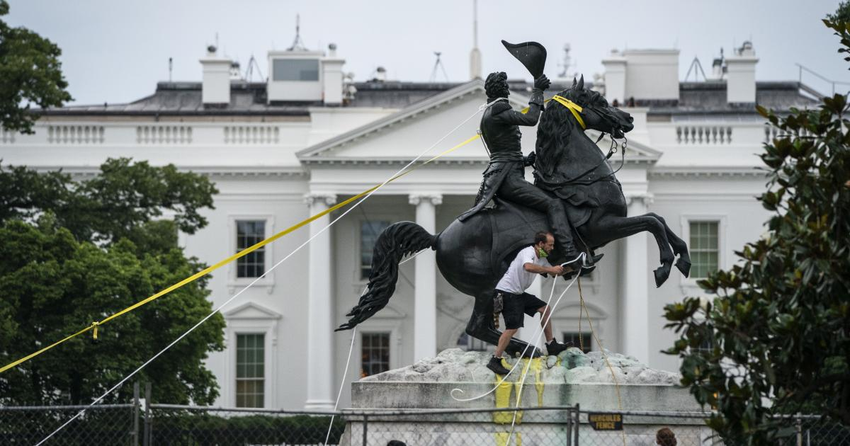 Statue Toppling Is Bringing Mob Rule to America | The Heritage Foundation