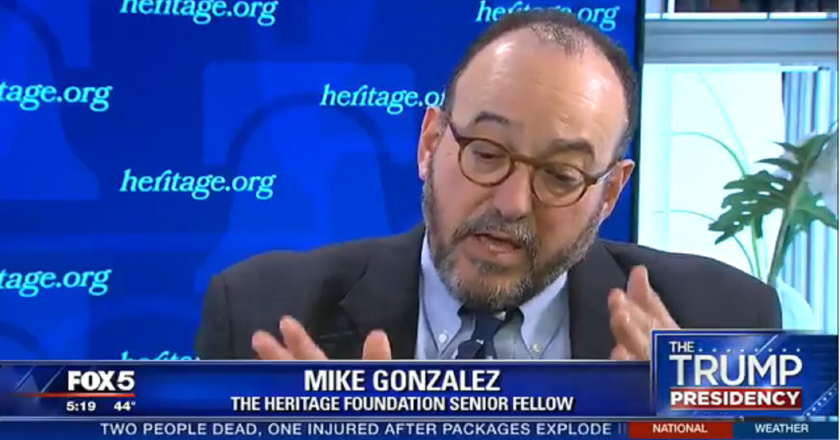 Video: Mike Gonzalez Talks Immigrant Status Question for
