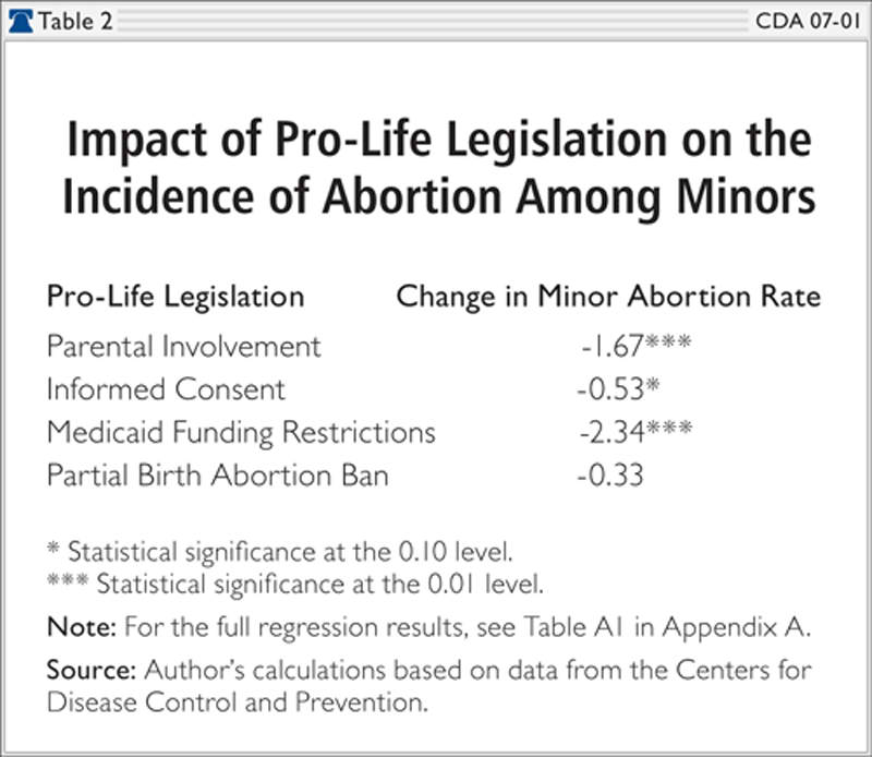 effects of abortion research paper