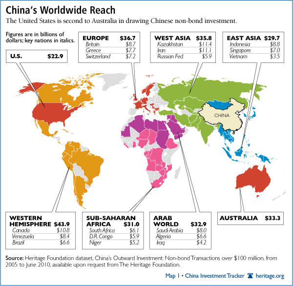 China's Worldwide Reach