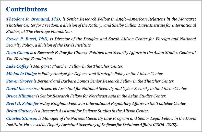 12 Issues For Congress In The 2015 National Defense Authorization