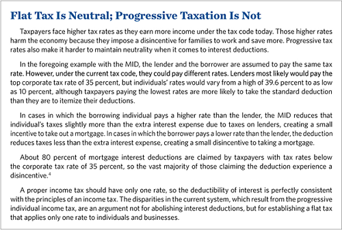 Flat Tax is Neutral