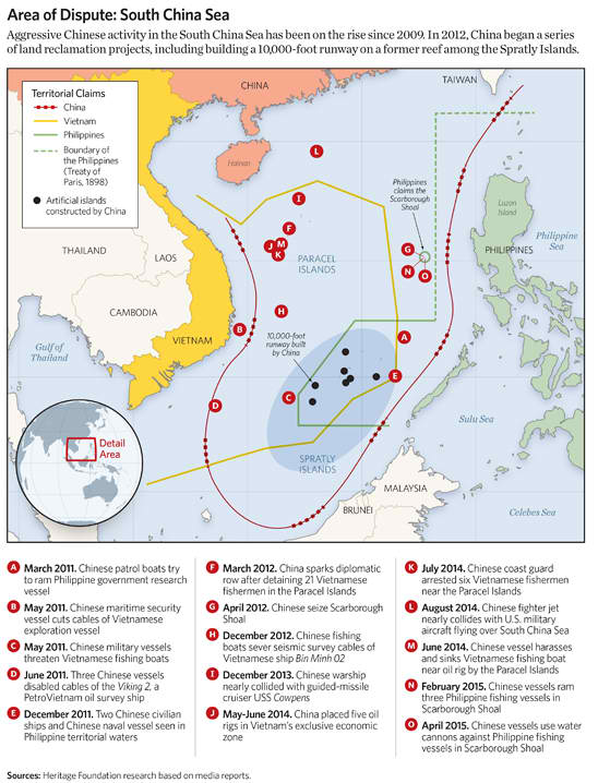 Area of Dispute: South China Sea